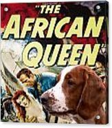 Welsh Springer Spaniel Art Canvas Print - The African Queen Movie Poster Acrylic Print