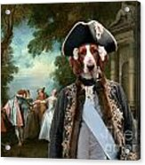 Welsh Springer Spaniel Art Canvas Print Acrylic Print