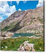 Weminuche Wilderness Area Landscape Acrylic Print