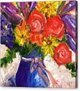 Wendy's Floral Acrylic Print