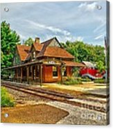 Wenonah Train Station Acrylic Print