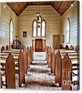 Wesleyan Methodist Church Acrylic Print