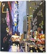 West 42nd Street Acrylic Print