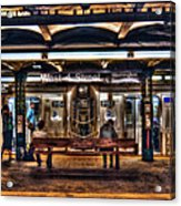 West 4th Street Subway Acrylic Print