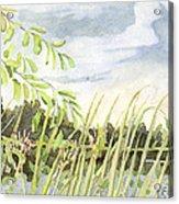 West Bay Napanee River Acrylic Print