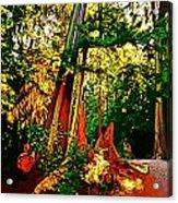 West Coast Rainforest Acrylic Print