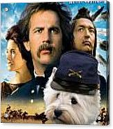 West Highland White Terrier Art Canvas Print - Dances With Wolves Movie Poster Acrylic Print
