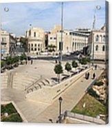 West Jerusalem Acrylic Print