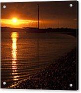 West Mersea Sunset Acrylic Print