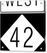 West Nc 42 Acrylic Print
