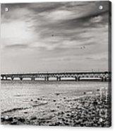West Of Mackinac Bridge Acrylic Print