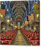 West Point Cadet Chapel Acrylic Print by Dan McManus