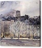 West Point Winter Acrylic Print