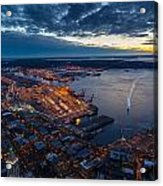 West Seattle Water Taxi Acrylic Print