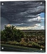 West Texas Storm Acrylic Print