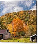 West Virginia Barns  Acrylic Print