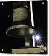 West Virginia Bell Acrylic Print