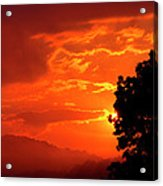 West Virginia Late Spring Sunrise Acrylic Print
