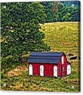 West Virginia Oil Acrylic Print