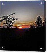 West Virginia Sunset 1 Acrylic Print