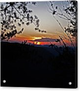 West Virginia Sunset 2 Acrylic Print