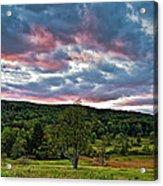 West Virginia Sunset II Acrylic Print