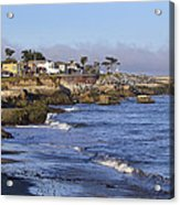 Westcliff Drive - Santa Cruz - California Acrylic Print