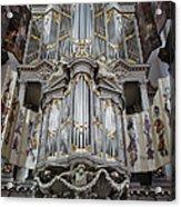 Westerkerk Organ In Amsterdam Acrylic Print