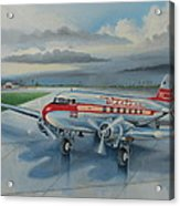 Western Airlines Dc-3 Acrylic Print
