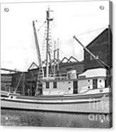 Western Flyer Purse Seiner Tacoma Washington State March 1937 Acrylic Print