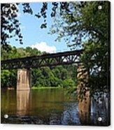 Western Maryland Railroad Crossing The Potomac River Acrylic Print