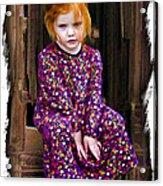 Western Princess Acrylic Print