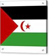 Western Sahara Flag Acrylic Print