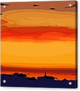 Western Sky Acrylic Print