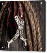 Western Spurs - Revisited Acrylic Print
