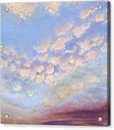 Western Sunset Acrylic Print
