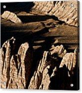 Western Tibet Geology Acrylic Print