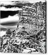 Western View Acrylic Print by John Rizzuto