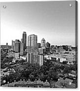 Western View Of Austin Skyline Acrylic Print