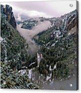 Western Yosemite Valley Acrylic Print by Bill Gallagher