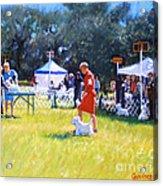 Westies Show Acrylic Print