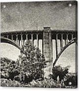 Westinghouse Bridge Pano Acrylic Print