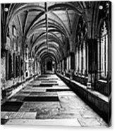 Westminister Abbey Cloister Acrylic Print