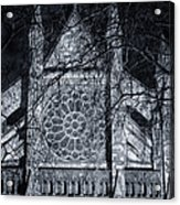 Westminster Abbey North Transept Acrylic Print