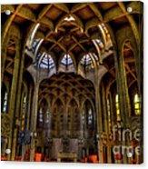 Westminster Abby Acrylic Print