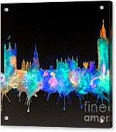 Westminster And Big Ben - Nighttime 1 Acrylic Print