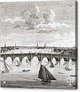 Westminster Bridge, London, Acrylic Print