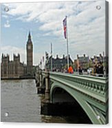 Westminster Bridge Acrylic Print