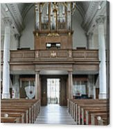 Westminster College Chapel Acrylic Print by David Bearden