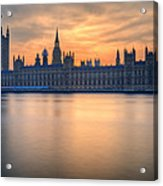 Westminster Nights Acrylic Print